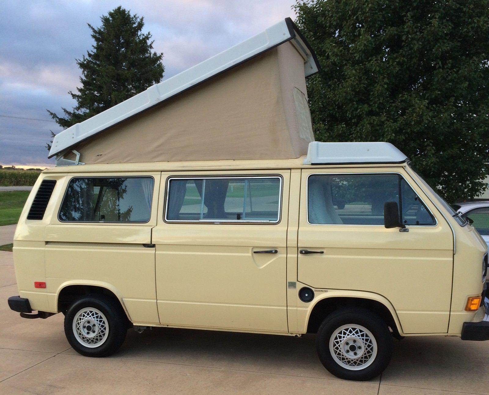 1983 5 Vw Vanagon Westfalia Camper W 48k Miles Auction