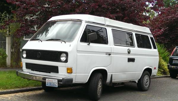 1983.5 VW Vanagon Westfalia Camper - $5k in Seattle