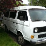 1983 vw Vanagon westfalia Camper white Seattle 5k 1