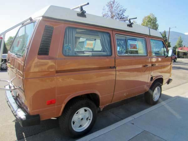 1984 vw vanagon westfalia camper w 2 0l bostig engine 12 500 salida co. Black Bedroom Furniture Sets. Home Design Ideas