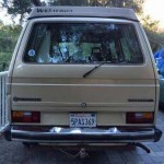 1985 vw vanagon westfalia camper topanga ca 8000 rear
