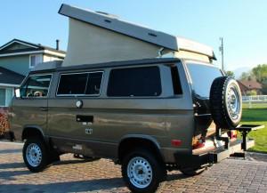 1986 VW Vanagon Syncro Westfalia Camper w/ 14k On Engine - $40k