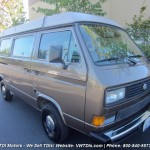 1986 vw vanagon westfalia camper gray bellevue wa auction