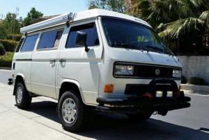 1986 VW Vanagon Syncro Westfalia w/ 2.2L Subaru - $30k in Chico,