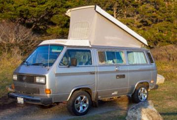 1987 VW Vanagon Westfalia Camper Auction In Santa Cruz, CA