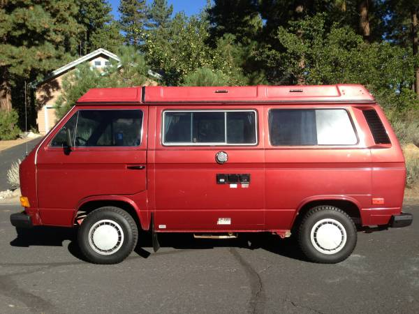 1987 VW Vanagon Westfalia Camper For Sale In Reno, NV $13,900