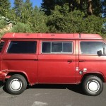 1987 vw Vanagon westfalia camper red reno nevada 1