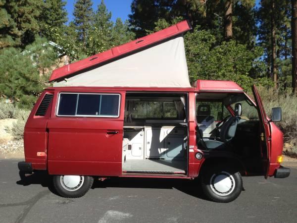 1987 VW Vanagon Westfalia Camper - $13,900 in Reno, NV
