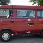 1987 vw Vanagon westfalia camper red santa rosa 16k 2