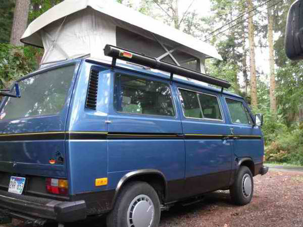 1987 VW Vanagon Country Homes Camper - $12,750 in Whidbey Island