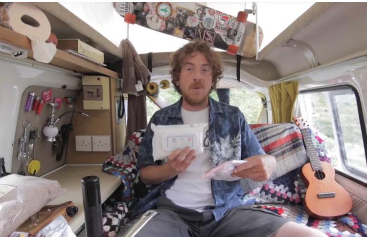 Fergus Living The Van Life