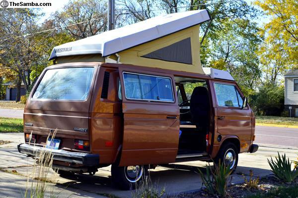 1982 VW Vanagon Westfalia - 1 9L Turbo Diesel - $15k in