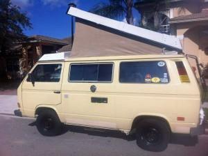 1984 VW Vanagon Westfalia Camper - $7,500 in South Florida