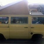 1984 vw Vanagon westfalia Camper 7500 yellow south florida 4