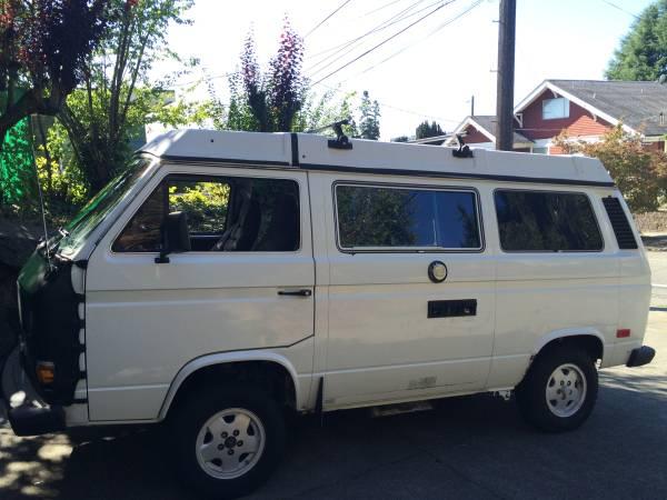 1984 VW Vanagon Westfalia Camper - NICE! - $12k in Seattle, WA