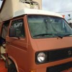 1984 vw Vanagon westfalia camper orange san jose ca 7500 3