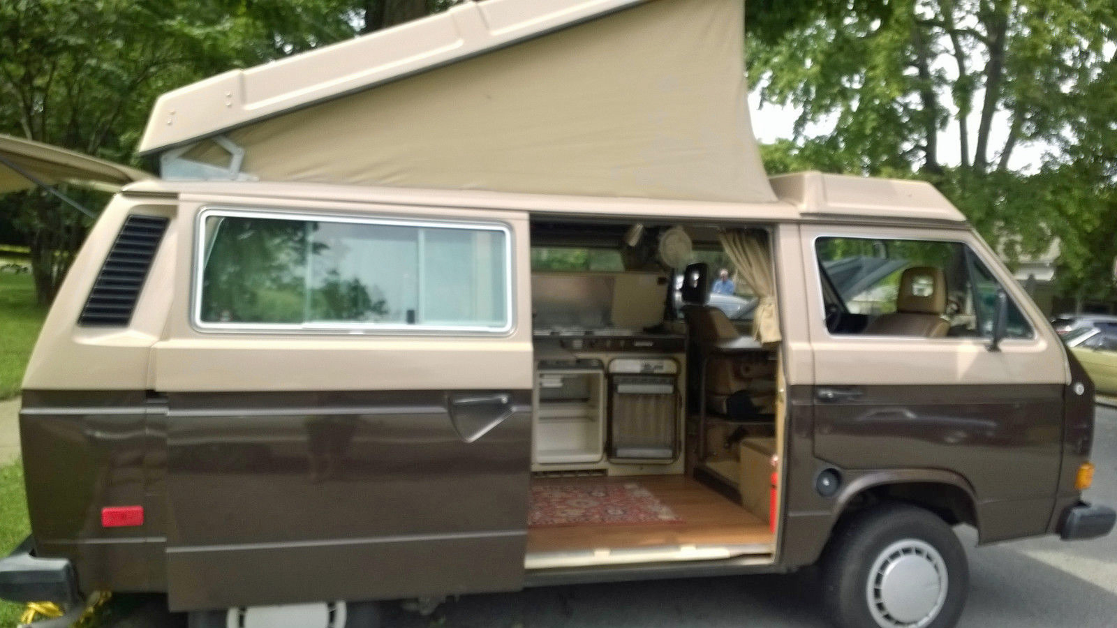 1984 Vw Vanagon Westfalia Camper Auction In Battle Ground