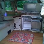 1984 vw Vanagon westfalia camper two tone auction indiana 3
