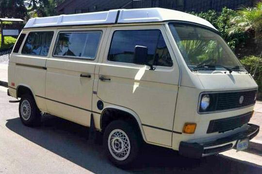1984 VW Vanagon Westfalia Camper - $9,750 in San Diego, CA