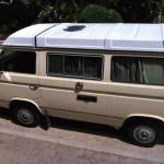 1984 vw Vanagon westfalia camper yellow san diego ca 2