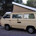 1984 vw Vanagon westfalia camper yellow san diego ca 4