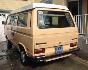 1985 VW Vanagon Westfalia Camper - $7,000 in Santa Cruz, CA