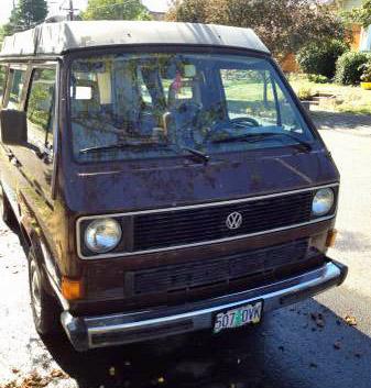 1985 VW Vanagon Westfalia Camper w/ 100k Miles - $7,900 in Portl