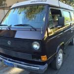 1985 VW Vanagon Westfalia Camper w/ 2.2L Subaru & New Paint - $1