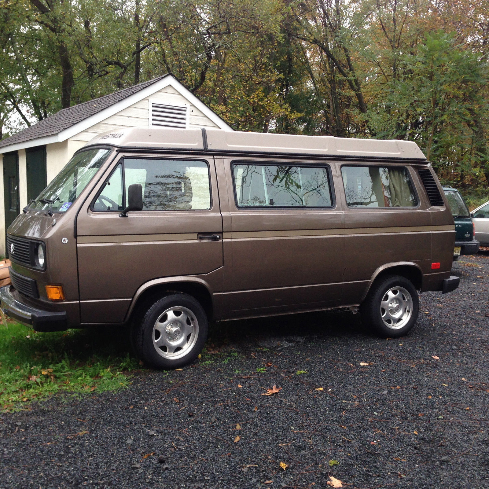 1985 Vw Vanagon Westfalia Weekender Wolfsburg 15k In