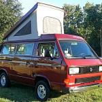 1987 vw Vanagon westfalia Camper red cocoa beach 13k 2