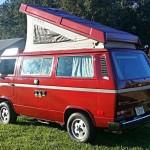 1987 vw Vanagon westfalia Camper red cocoa beach 13k 2 1