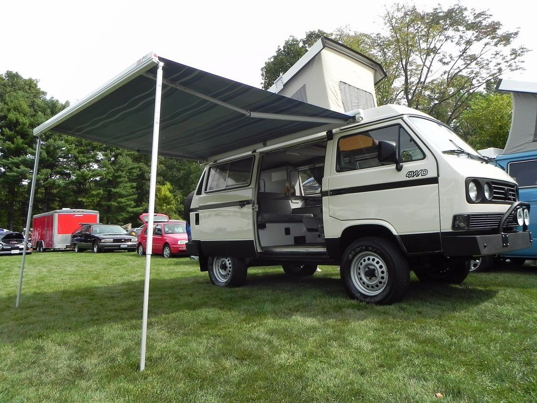 1987 Vw Vanagon Syncro Turbo Diesel Westfalia Camper Auction In New Jersey
