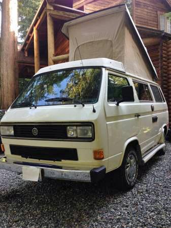 1987 VW Vanagon Westfalia Camper - $8,500 in Bellingham, WA