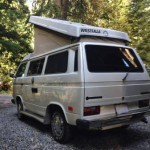 1987 vw vanagon westfalia camper white bellingham wa 8500 2