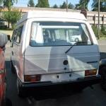 1988 vw vanagon westfalia camper tacoma wa 25k 4