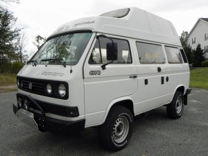 1989 VW Vanagon Westfalia Syncro Tubro Diesel High Top - Auction in New Jersey