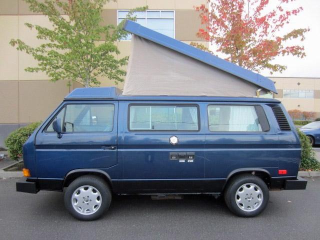 1990 VW Vanagon Westfalia Camper - Auction In Bellevue, WA