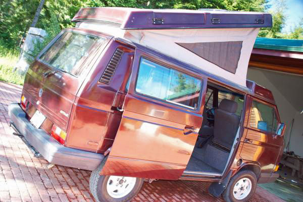 bfe097fd39 1990 VW Vanagon Westfalia Camper w  2.5L Subaru -  20k in Hawaii -