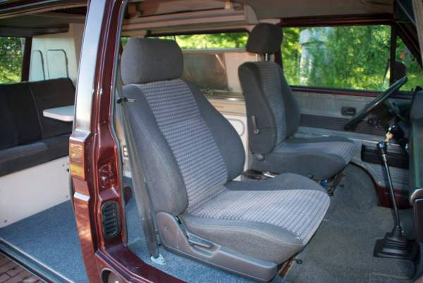 bcf8fe1dbd 1990 VW Vanagon Westfalia Camper w  2.5L Subaru -  20k in Hawaii ...