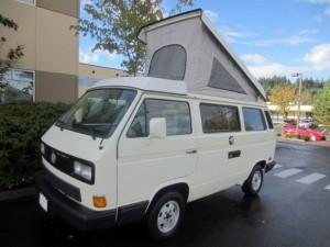1991 VW Vanagon Westfalia Camper Auction in Bellevue, WA