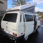 1991 vw Vanagon westfalia camper white auction bellevue wa 2