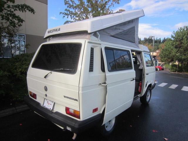 1991 VW Vanagon Westfalia Camper Auction in Bellevue, WA -