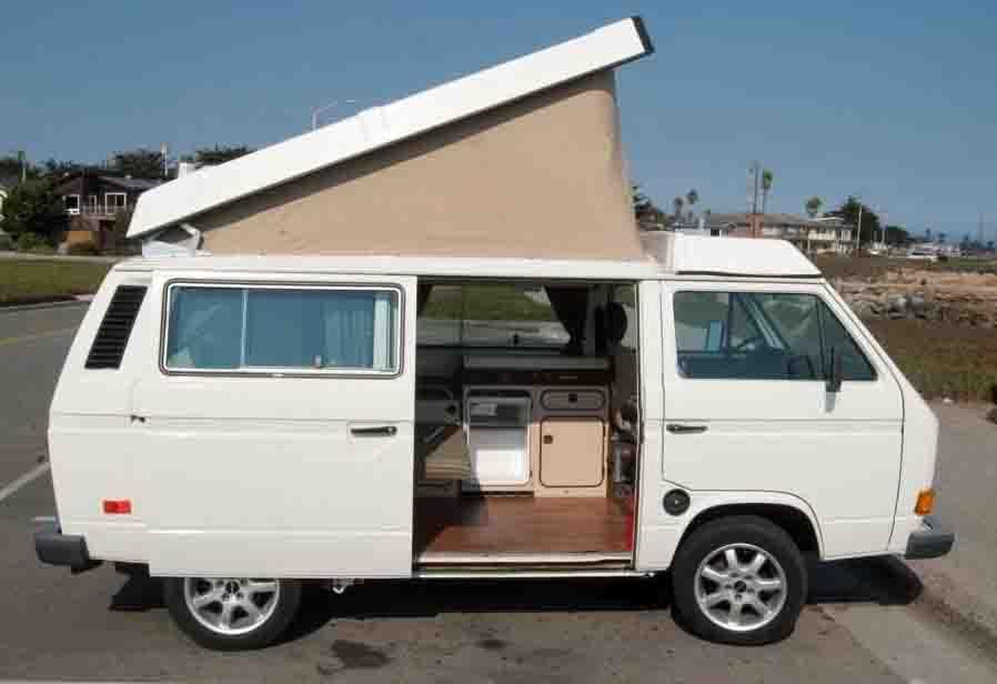 1982 vw vanagon westfalia camper w new 1 9l diesel 20k in santa cruz ca. Black Bedroom Furniture Sets. Home Design Ideas