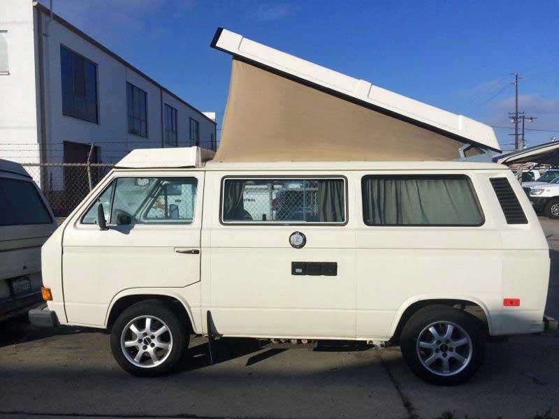 1982 Vw Vanagon Westfalia Camper W   New 1 9l Diesel