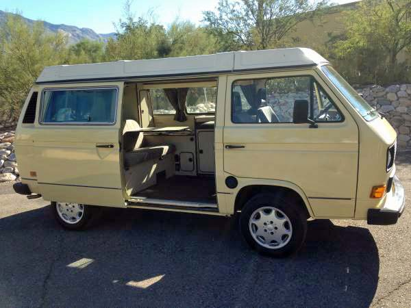 Clean!! 1983.5 VW Vanagon Westfalia Camper - $12,495 in Tuscon,