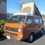 1983.5 VW Vanagon Westfalia Camper - Auction In Bellevue, WA end
