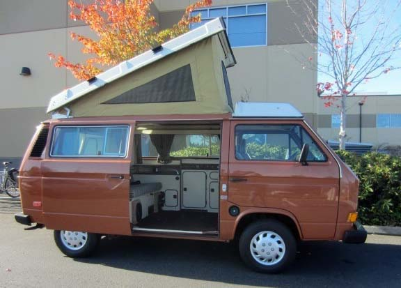 1983.5 VW Vanagon Westfalia Camper - Auction In Bellevue, WA ends 11/21