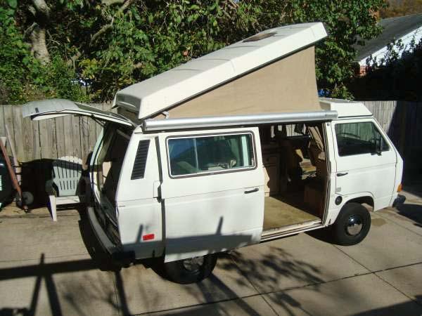 1985 VW Vanagon Westfalia Camper - $12,000 in Washington D.C.