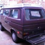 1985 vw Vanagon westfalia camper brown 8500 atlanta 4