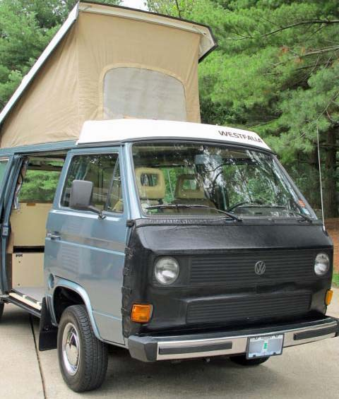 1985 VW Vanagon Westfalia Camper w/ Subaru SVX Engine - $19,500